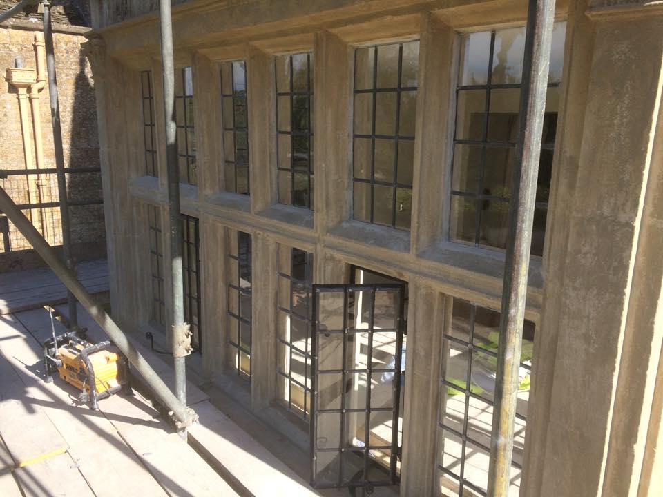 Stone Mullion Window Repairs Cornwall