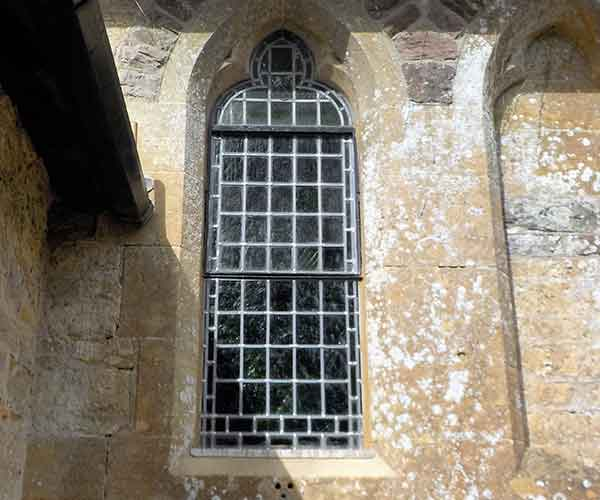 Stained Glass Window Repair Crewkerne Somerset