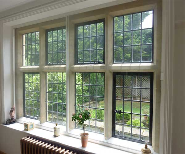 Double Glass Window With Lights : Secondary glazing suppliers for stained glass lead light