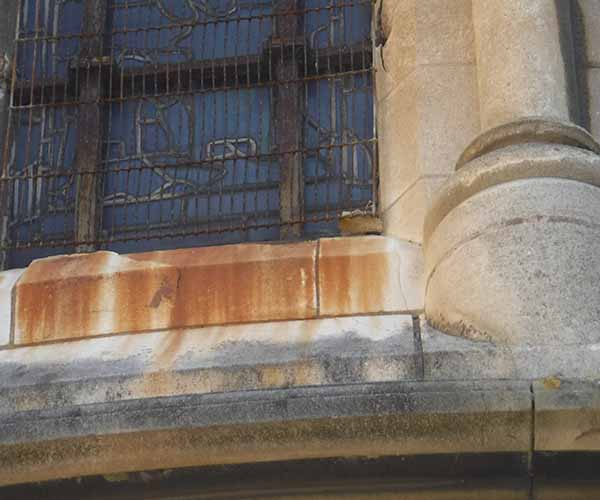 Church Window Protection